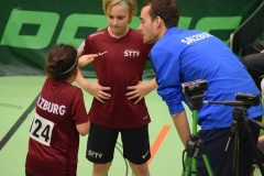 Team mixed U11-Tobias Meusburger beim Coachen