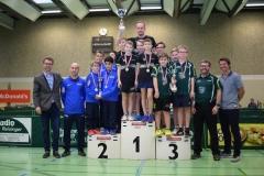 U13 Team Burschen-2.Platz Salzburg (Alexander Dür, Leo Blersch, Felix Dostal,Husein Salimov)