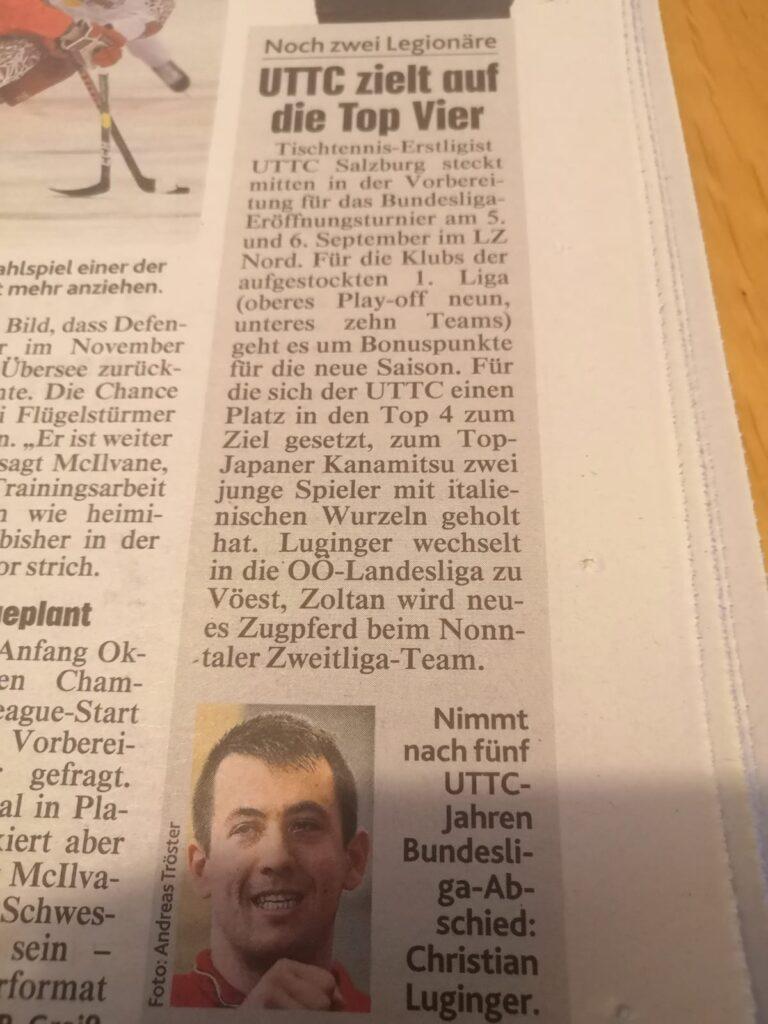 Kronen Zeitung vom 15. Juli 2020