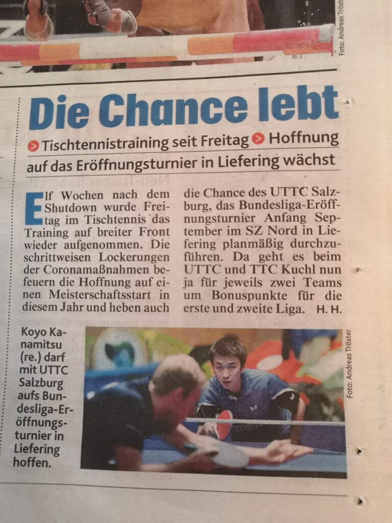 Kronen Zeitung 31. Mai
