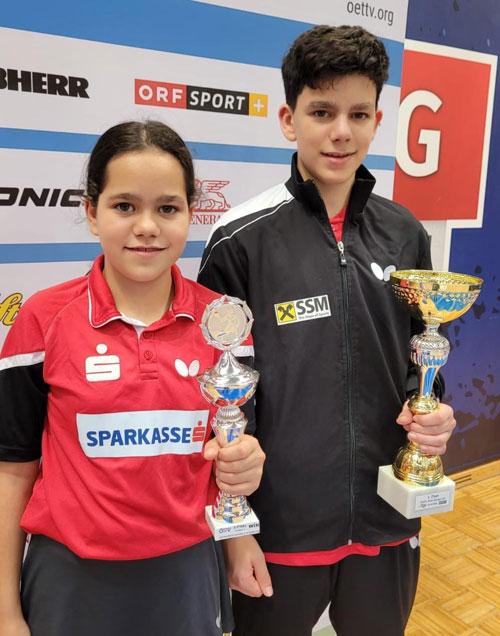 Julia und Alex Dür waren beim Nchwuchstuenier in der Steiermark sehr erfolgreich!